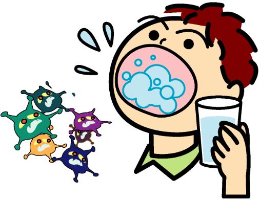 アルカリイオン水うがいで膿栓(臭い玉)を取る方法