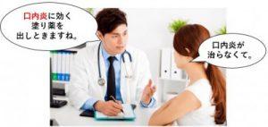 口内炎に効く塗り薬の投薬