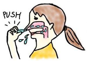 膿栓の取り方…鼻うがい